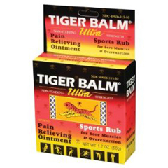 MON27562700 - Prince of PeacePain Relief Tiger Balm 11% / 11% Strength Ointment 18 Gram