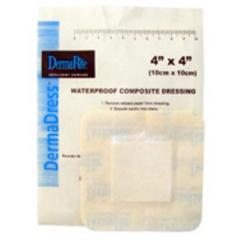 MON584146BX - Dermarite - Composite Dressing Dermadress® 4 X 4, 10EA/BX