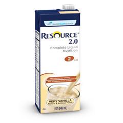 MON27602601 - Nestle Healthcare NutritionOral Supplement Resource® 2.0 Vanilla Creme 32 oz.