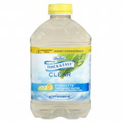 MON732818EA - Hormel Health Labs - Thick & Easy® Clear Hydrolyte® Thickened Water - Honey Consistency