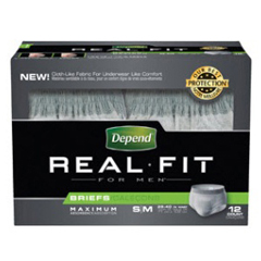 MON27793100 - Kimberly Clark ProfessionalDepend® Real Fit® Briefs for Men