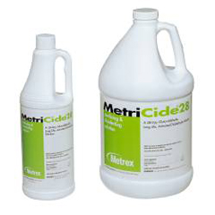MON28004100 - Metrex ResearchInstrument Disinfectant / Sterilizer MetriCide®28 Liquid 1 Gallon, 4EA/CS