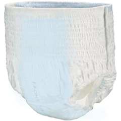 MON28463100 - PBEIncontinent Swim Brief Tranquility Pull On Large Disposable