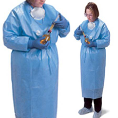 MON28751100 - MedtronicChemotherapy Procedure Gown ChemoBloc Light Blue XL Adult Knit Cuff Disposable