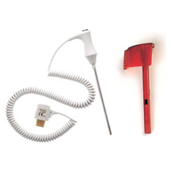 MON28922500 - Welch-AllynRectal Probe SureTemp® Rectal, Red, 4 Foot, Nonsterile, Reusable SureTemp® 690 / 692 Thermometers