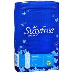 MON29031700 - McKessonMaxipad Stayfree Reg 8X24 24/BX