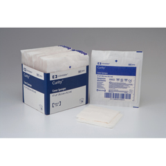 MON401580TR - Cardinal Health - Curity Cover Sponges 4in x 4in Sterile 2S Peel Back Pkg All Purpose Sponge