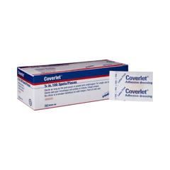 MON29502010 - BSN Medical - Adhesive Spot Bandage Coverlet 0.875 Diameter Fabric Round Tan Sterile