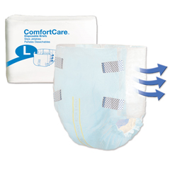 MON29663100 - PBEAbsorbent Underwear ComfortCare Pull On Large Disposable Moderate Absorbency (2966-100)