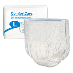 MON29763101 - PBEAbsorbent Underwear ComfortCare Pull On Large Disposable Moderate Absorbency (2976-100)