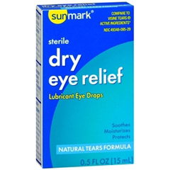 MON29822700 - McKessonLubricant Eye Drops sunmark 0.5 oz.