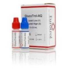 MON30022400 - HemocueDiabetes Monitoring Control GlucoTrol-AQ Blood Glucose Test High Level / Low Level 2 mL