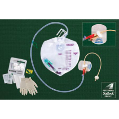 MON30161910 - Bard MedicalIndwelling Catheter Tray Bardex I.C. Complete Care Foley 16 Fr.