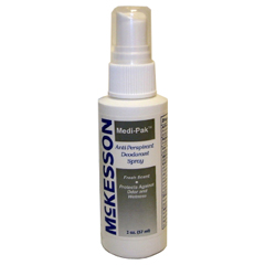 MON535098EA - McKesson - Deodorant Medi-Pak™ Spray 2 oz. Fresh Scent
