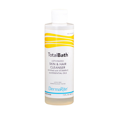 MON30281808 - DermaRiteBodywash Skin Cleanser DermaRite® TotalBath® Lotion 7.5 oz Squeeze Bottle, 48EA/CS