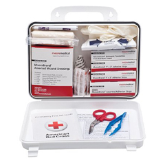 MON30322001 - McKessonFirst Aid Kit 25 Person Plastic Case, 1/ EA