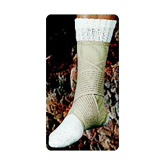 MON30333000 - Scott SpecialtiesAnkle Support Spandex® Medium Pull-On / Hook and Loop Closure Left or Right Ankle