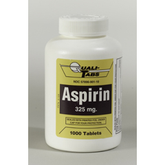 MON30402700 - McKessonAspirin Tablets 325 mg, 1000EA per Bottle