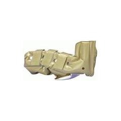 MON30403000 - DermacareHeel Protector Boot Foot WAFFLE® Air Cushion Medium Beige