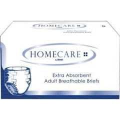 MON30443100 - AttendsIncontinent Brief Homecare Tab Closure Large Disposable Moderate Absorbency