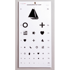 MON1038454BG - McKesson - Eye Test Chart (63-3052), 5/BG