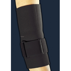 MON30523000 - DJOTennis Elbow Sleeve ProStyle® Large Loop Lock Compression Strap Elbow 12 to 14 Inch Circumference