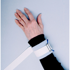 MON30603000 - Skil-CareAnkle / Wrist Restraint Dispos-A-Cuff One Size Fits Most Tie Strap 1-Strap, 36PR/CS
