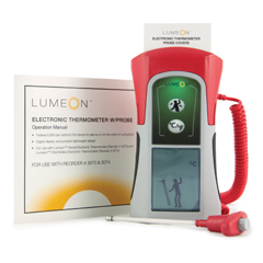 MON30732505 - McKessonRectal Thermometer LUMEON Standard Probe Hand-Held