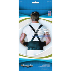 MON31193000 - Scott SpecialtiesBack Support Belt Sport-Aid® X-Large Hook and Loop Closure 40 to 55 Inch 9 Inch