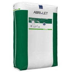 MON31263100 - AbenaIncontinence Booster Pad Abri-Let 4 X 13 Inch Moderate Absorbency Fluff Unisex Disposable