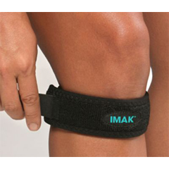 MON31373000 - Brown MedicalKnee Strap IMAK RSI Universal Dual-Locking System Left or Right Knee
