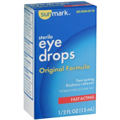 MON552028EA - McKesson - Eye Drops sunmark® 1/2 oz.