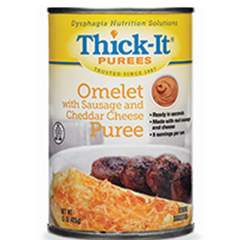 MON31502600 - Kent Precision FoodsPuree Thick-It® 15 oz. Omelet with Sausage and Cheddar Cheese Ready to Use, 12EA/CS