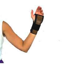MON31583000 - Scott Specialties - Wrist Brace Palmar / Dorsal Stay Black One Size Fits Most