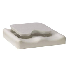 MON31614300 - Bluechip MedicalSeat Cushion Amara® 300 16 X 16 X 3 Inch Foam