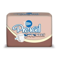 MON31623101 - First QualityPrevail® Simply StretchFit™ Incontinent Briefs, Size A