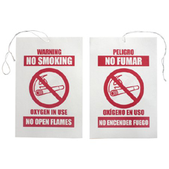 MON31753910 - Sunset HealthcareOxygen In Use Sign (RES003), 50 EA/PK