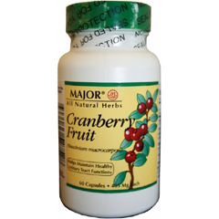 MON31782700 - Major PharmaceuticalsCranberry Fruit Supplement Capsule 405 mg, 60 per Bottle
