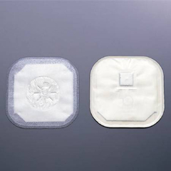 MON31844900 - HollisterStoma Cap 2 Inch, 11 cm Stoma, Transparent, Porous Cloth, Pre Sized, 30EA/BX