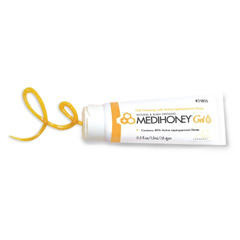MON31852100 - Derma Sciences - Wound and Burn Dressing MEDIHONEY Gel 0.5 oz Tube Sterile