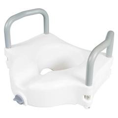 MON31873500 - Apex-CarexClassics Raised Toilet Seat With Armrests