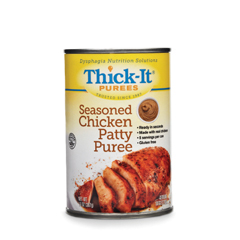 MON31882600 - Kent Precision FoodsPuree Thick-It 14 oz. Can Seasoned Chicken Patty Ready to Use Puree