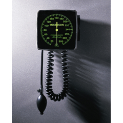 MON31902500 - McKessonAneroid Sphygmomanometer Wall Mount 2-Tube Adult Arm