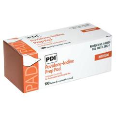 MON32012300 - Professional DisposablesPVP Prep Pad Povidone Iodine, 10% Individual Packet 1-3/16 X 2-5/8 Inch, 100EA/BX