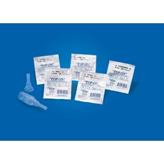 MON32111901 - Bard MedicalMale External Catheter Pop-On Self-Adhesive Strip Silicone Small