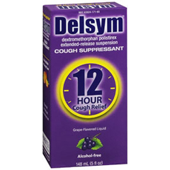 MON32142700 - Reckitt BenckiserCough Relief Delsym® Liquid 30 mg 5 oz.