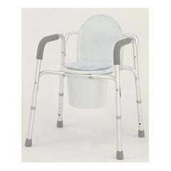 MON32163300 - Merits Health3-In-1 Commode Deluxe With Arms 17 To 23 Inch