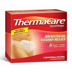MON32262700 - Wyeth PharmaceuticalsHeat Wrap ThermaCare® Chemical Activation Abdominal/Menstrual, 3EA/BX