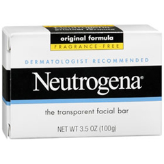 MON32351800 - Johnson & Johnson - Neutrogena® Facial Cleanser Bar, 3.5 oz., Individually Wrapped, Unscented
