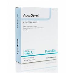 MON802136BX - Dermarite - DermaRite AquaDerm™ Hydrogel Sheet (00324E), 10 EA/BX
